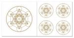 Metatron Aufkleber-Set  5-teilig