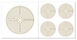 Chartres Labyrinth Aufkleber-Set  5-teilig