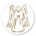 Engel Aufkleber auf Rolle